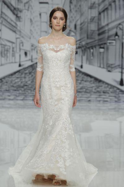Vestidos de novia con encaje 2017: Luce sutil, delicada y elegante Image: 28
