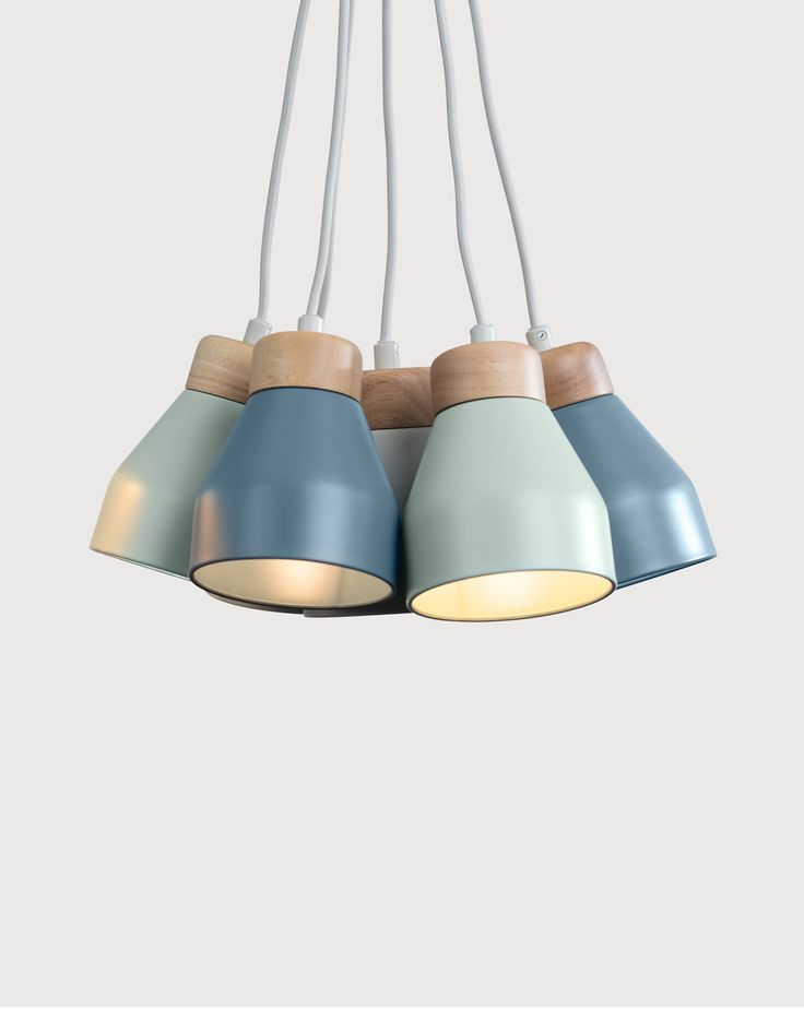 Albert Cluster Pendant Light. Clean and contemporary lighting, Nordic style. £79. MADE.COM