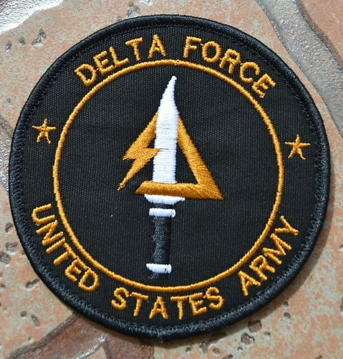 united states military forces | UNITED STATES US ARMY SPECIAL FORCE DELTA FORCE EMBROIDERED PATCH ...