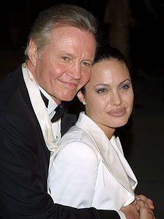 Angelina Jolie & Jon Voight (father) - Vanity Fair Oscars party at Morton's in Beverly Hills, CA (March 26, 2001) :-)