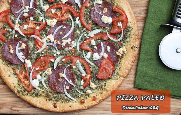 Esta masa es deliciosa y fácil para preparar Pizza Paleo. Sin gluten, sin granos, sin azúcar. Perfecta para toda la familia y para cualquier ocasión.