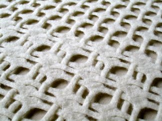 Pauline Verbeek Cowart's newer work - woven and felted lace