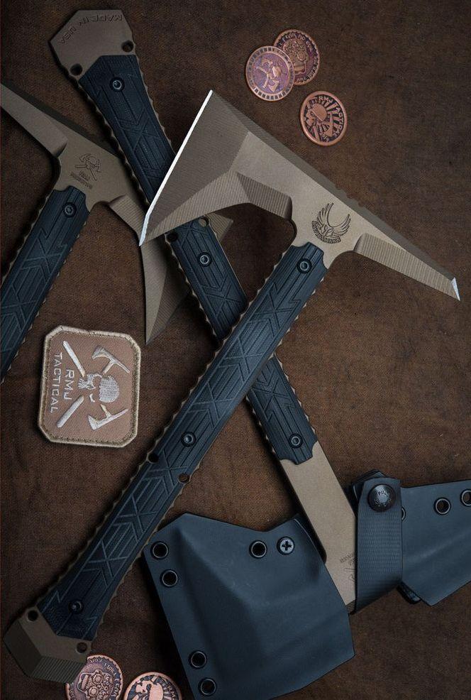 Andrew Bawidamann RMJ Tactical Custom Axe @aegisgears