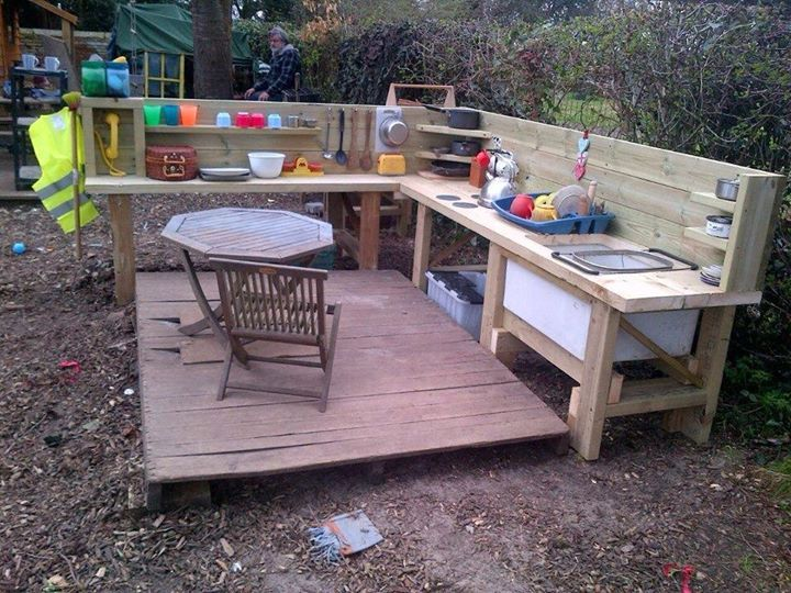 110 Best Images About Mud Kitchens On Pinterest Children