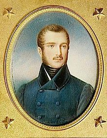 Napoleon Louis Bonaparte (1804 - 1831). King of Holland for a few days in 1810. After his father abdicated he was declared king until the fall of Holland eight days later. He married Charlotte Napoleone Bonaparte but had no children.