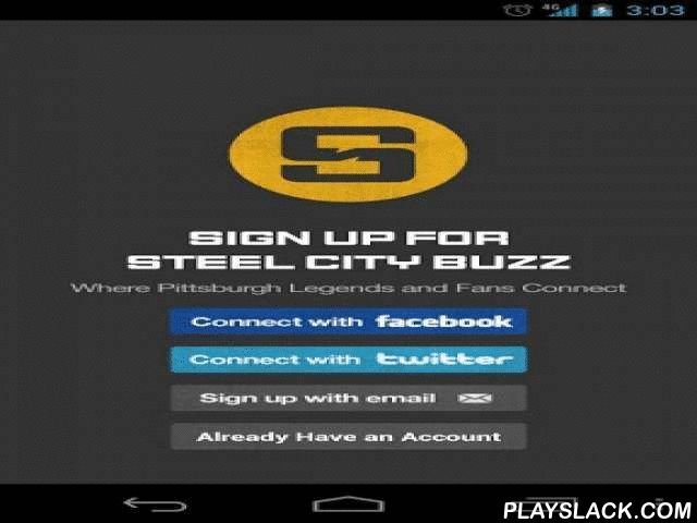 Steel City Buzz  Android App - playslack.com , Where Pittsburgh Fans Connect 24/7Steel City Buzz™ is a whole new way for Pittsburgh fans to experience the thrill of their favorite sports teams. This app will put you close to the action and connect you with Pittsburgh fans from all over the world. The app allows you to customize your chat room with friends, post pictures, voice-to-text, block offensive users, and get up to the minute sports headlines! Steel City Buzz™ is the free app that…