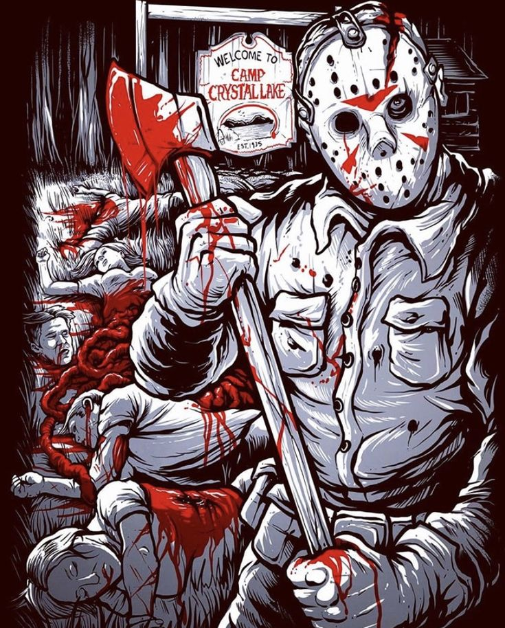 Pin on Jason Vorhees Friday the 13th