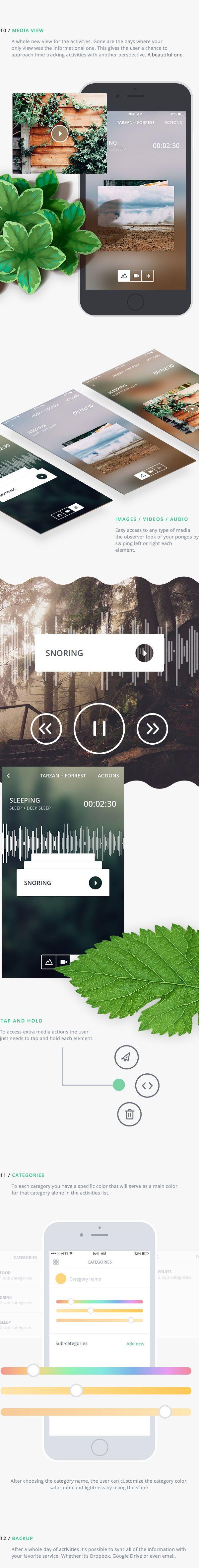 Pongo App on Behance