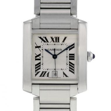 Reloj de pulsera Cartier Tank Française Ref. 2302 de acero