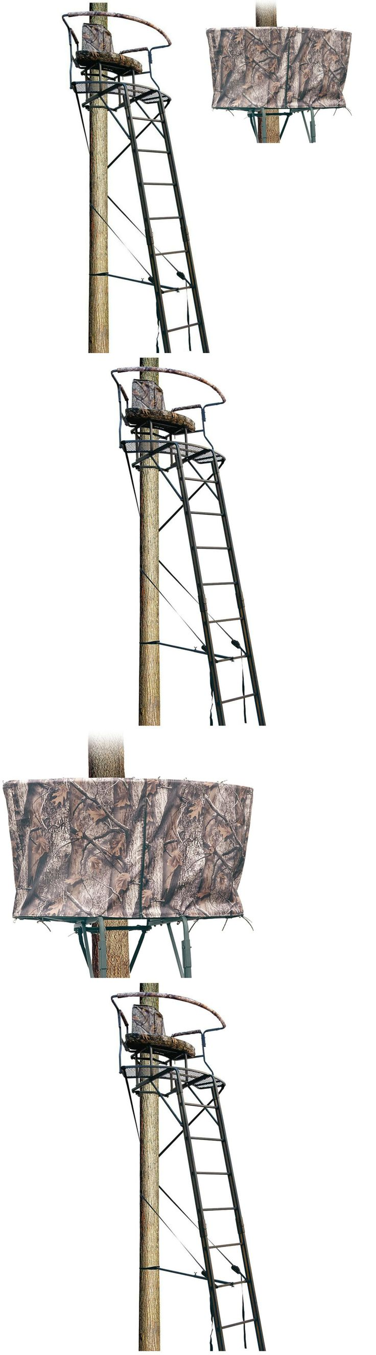 Tree Stands 52508: 2 Man Deer Hunting Ladder Tree Stand 17.5 Climbing Sniper Rifle Bow Treestand -> BUY IT NOW ONLY: $260.15 on eBay!