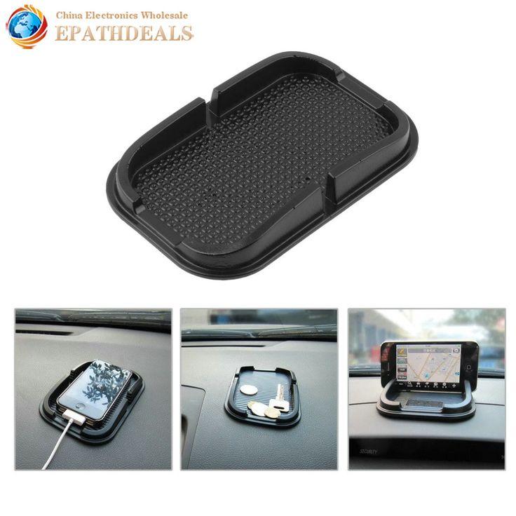 Universal Auto Mobil Anti Slip Pad Karet Ponsel Sticky Tongkat Dashboard Telepon Gunung Pemegang Shelf Antislip Mat Untuk GPS MP3 berdiri