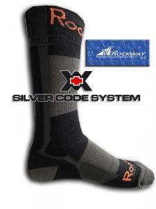 Funkční ponožka Ag+ - Rockway Adventure I Kliknutím zobrazíte detail obrázku.