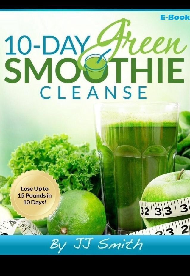 10-Day Green Smoothie Cleanse by JJ Smith (E-Book)