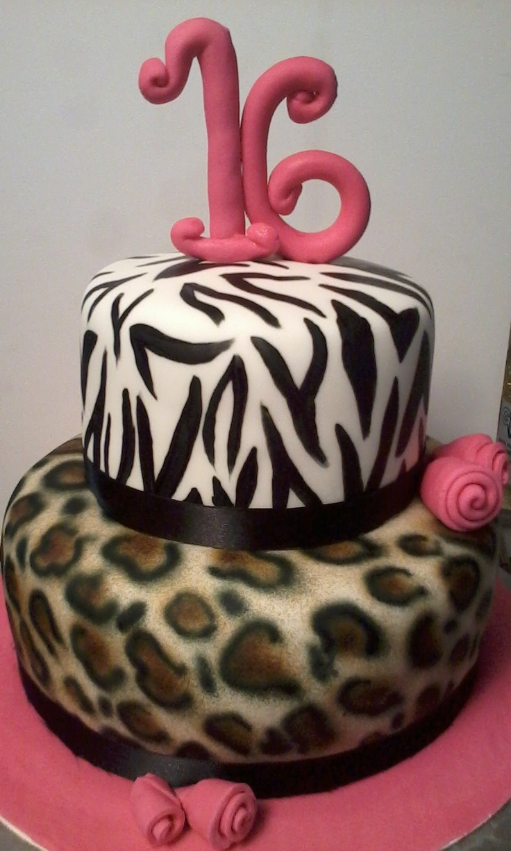 Animal print...handpainted and airbrushed design