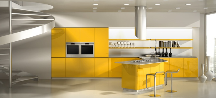 80 Best Images About Ultra Modern Kitchens On Pinterest Modern Kitchen Cabinets Green