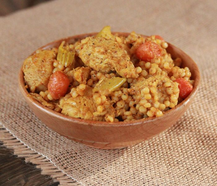 Moroccan Chicken Stew (use boneless skinless breasts)