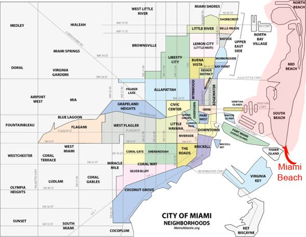 11 best miami real estate maps and graphics images on