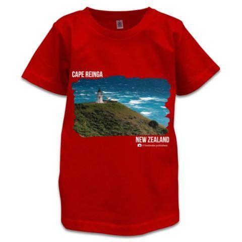 NZ Children's T-Shirt - Cape Reinga, New Zealand