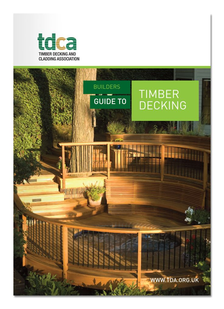 Go to our website and download our Builders Guide to Timber Decking.  It's FREE.