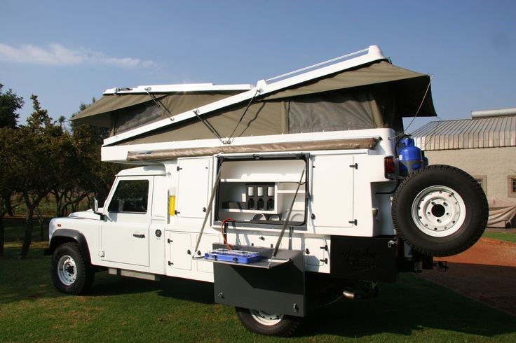 Abba Camper on Land Rover 130 chassis cab www.safaricampers.co.za