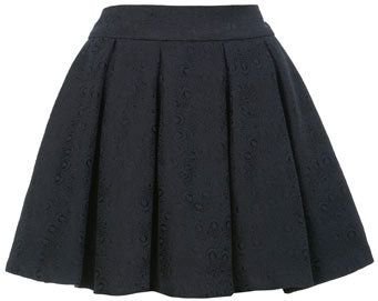 #missselfridge.com        #Skirt                    #Black #Jacquard #Skater #Skirt #Skirts #Apparel    Black Jacquard Skater Skirt - Skirts - Apparel                                http://www.seapai.com/product.aspx?PID=1064101