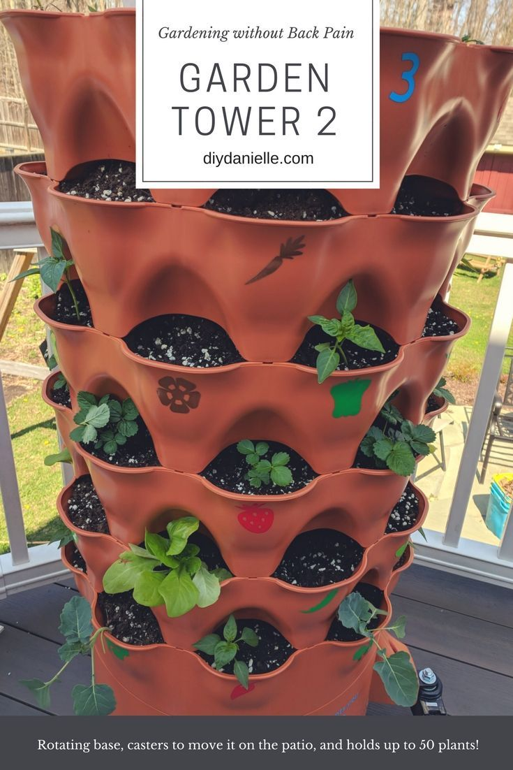 The Garden Tower 2 Gardening With Kids For Busy Moms Cricut Ideas