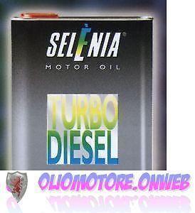 SELENIA-TURBO-DIESEL-TD-10W40-4-LITRI-2-2-lt-OLIOMOTORE-FIAT-ALFA