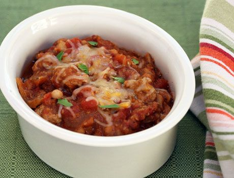 turkey chili--works for South Beach phase 1!