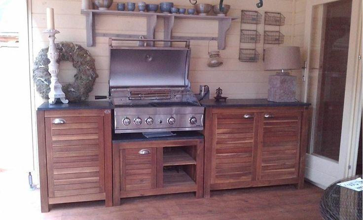 Buiten keuken & barbecue - Outdoor kitchen & barbecue #Fonteyn