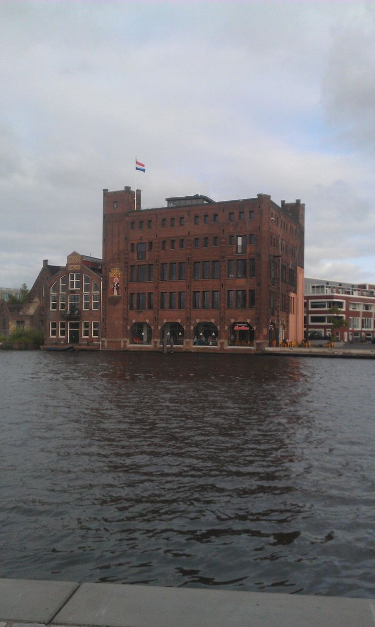 Haarlem. The old Droste chocolate factory.