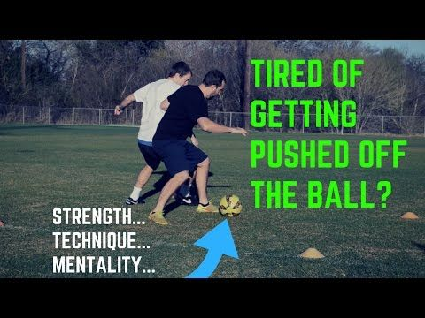This video breaks down how to properly shield the soccer ball. Many players have been taught the wrong way on this.