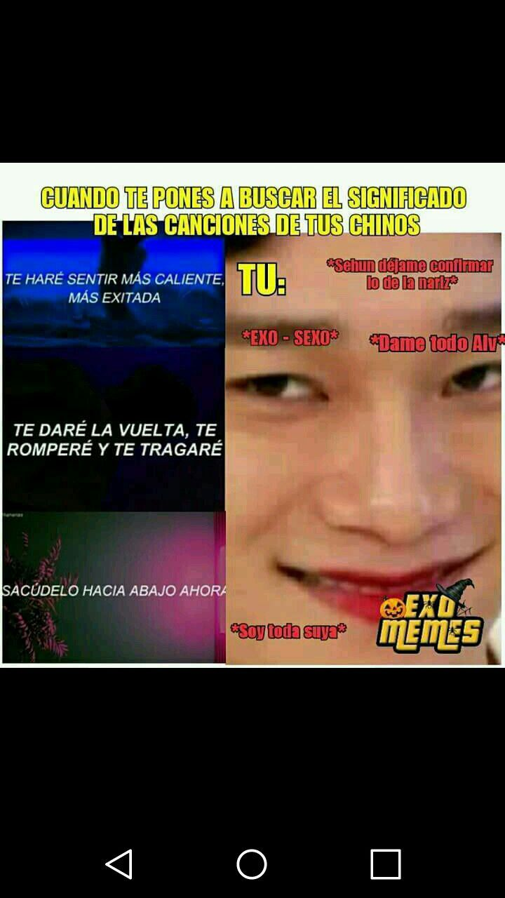Memes De Kpop Memes Memes Exo Memes Coreanos