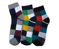 Maya Hosiery manufacturers and suppliers of gents socks of all materials that includes woolen socks, cotton socks, terry socks, etc. These socks are available at very reasonable prices.
