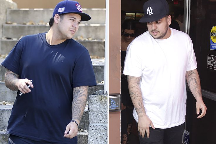 Rob Kardashian Looks Noticeably Thinner While Out With Blac...: Rob Kardashian Looks… #RobKardashian #RobKardashianTattoos #BlacChyna