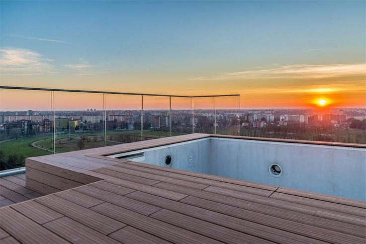 Unique triplex with panoramic pool and views of the skyline and beyond , Milan, Italy – Luxury Home For Sale