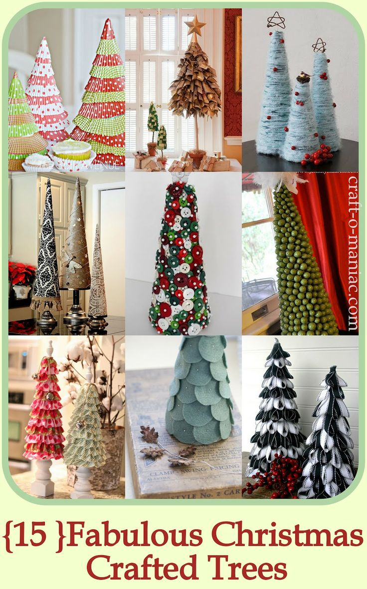 Christmas Christmas Decor Christmas Tree Craft O