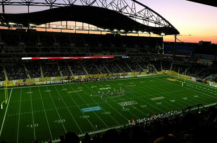 Winnipeg Blue Bombers Stadium