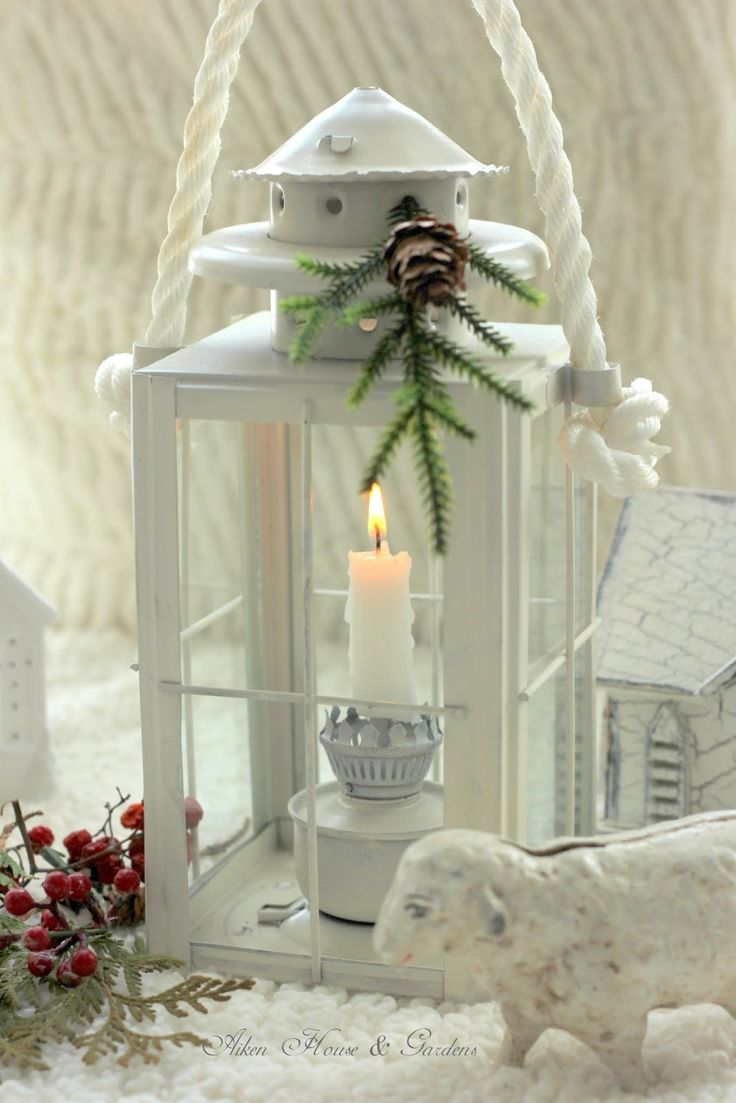 House and garden nordic decorating for christmas