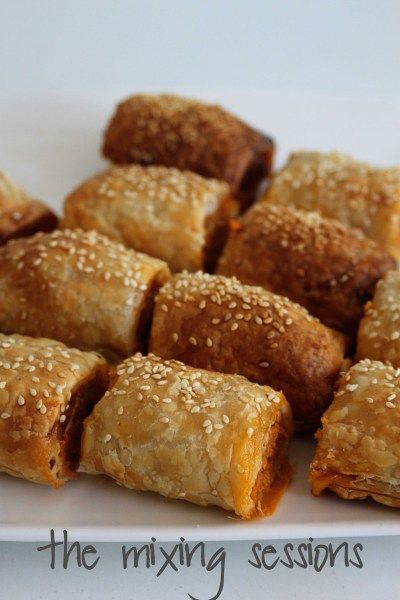 Thermomix Mini Sausage Rolls – The Mixing Sessions