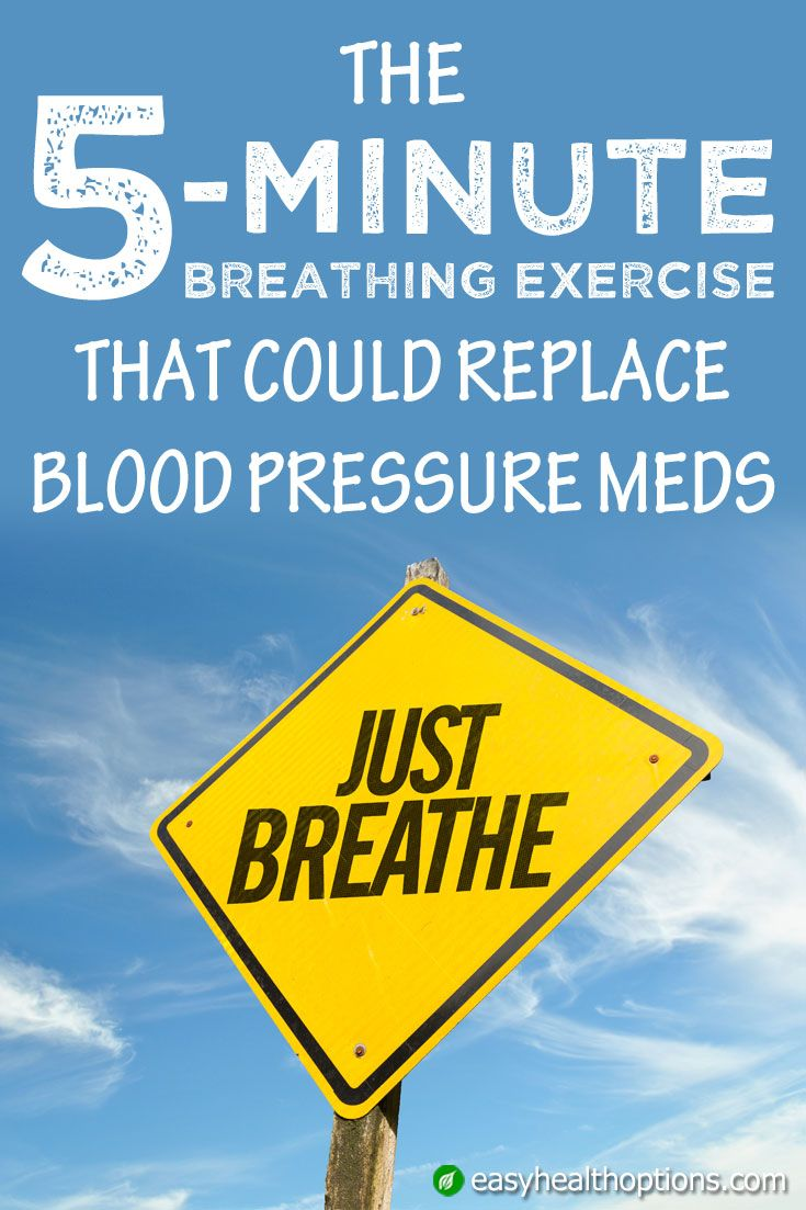 How Working Out Could Replace Your >> The Five Minute Breathing Exercise That Could Replace Blood Pressure