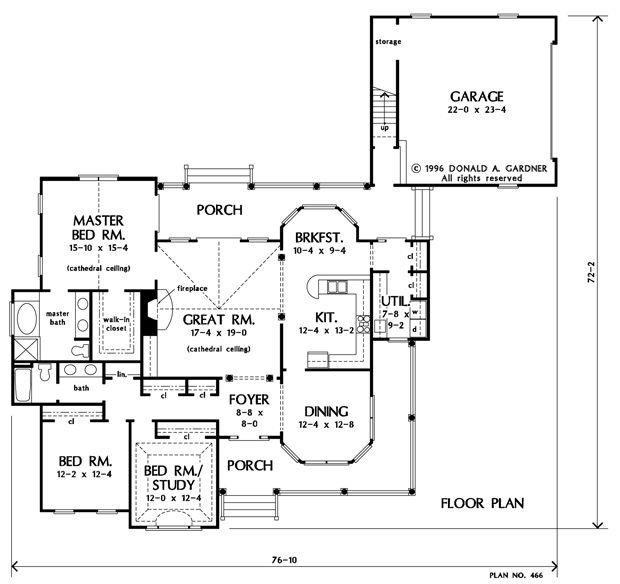 Parkstone House Plan