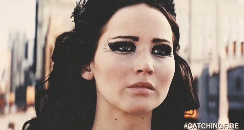 Killing it. KILLING. IT. Katniss Everdeen of The Hunger Games:catching fire