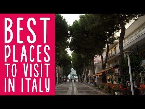 Le aree di Cattolica dedicate allo shopping e agli incontri in città.