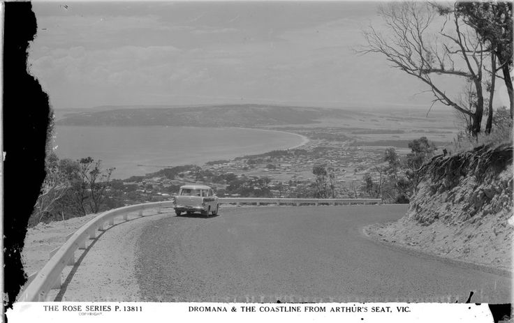 The Road to Arthurs Seat, Victoria
