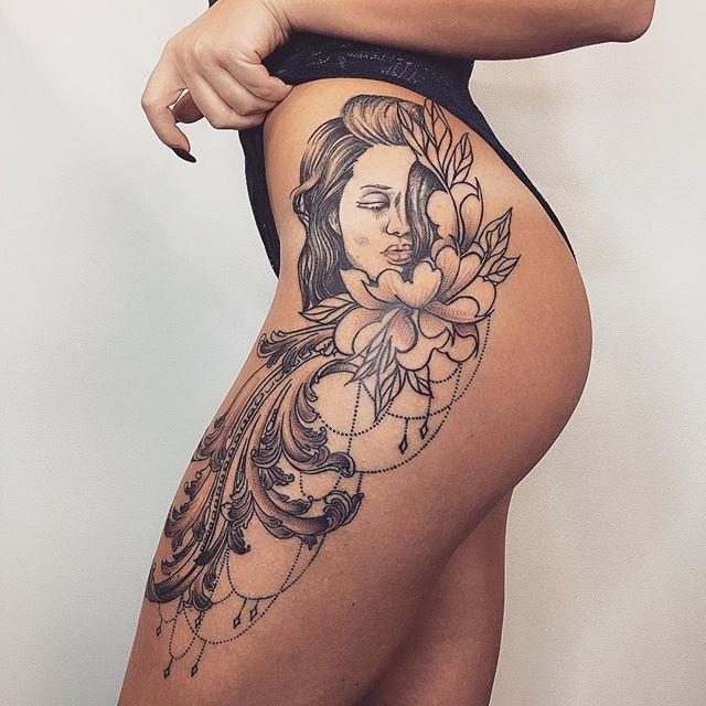 Girl Body Tattoos Ideas