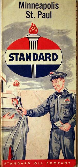 Standard Oil. Paper maps (... before Google)