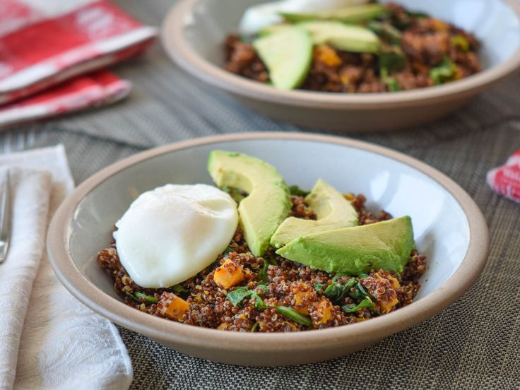 Savory Quinoa With Sweet Potatoes Makes a Better Breakfast Bowl