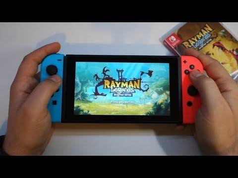 Rayman Legends Definitive Edition - Nintendo Switch gameplay - Andrasi.ro