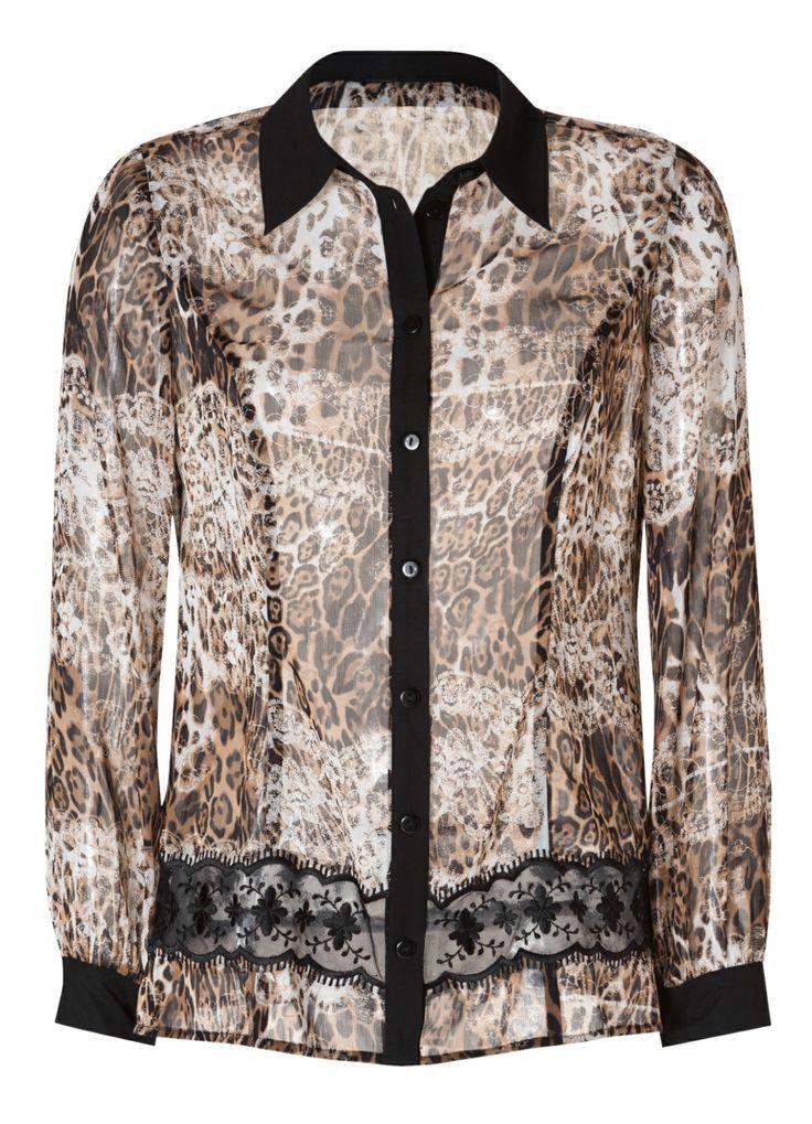 Alfredo Pauly | Women's Fashion | Bluse mit Animaldruck | #HSE24 #clothing #top
