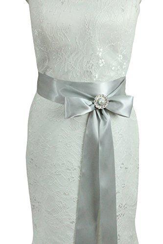 Lemandy Handmade Crystal Decoration Ribbon Belt/Sashes fo…